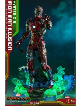 Avengers: Endgame figurine MMS 1/6 Mysterio's Iron Man Illusion Hot Toys