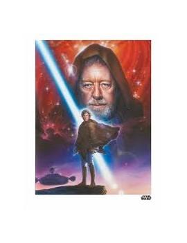 Star Wars lithographie Obi...