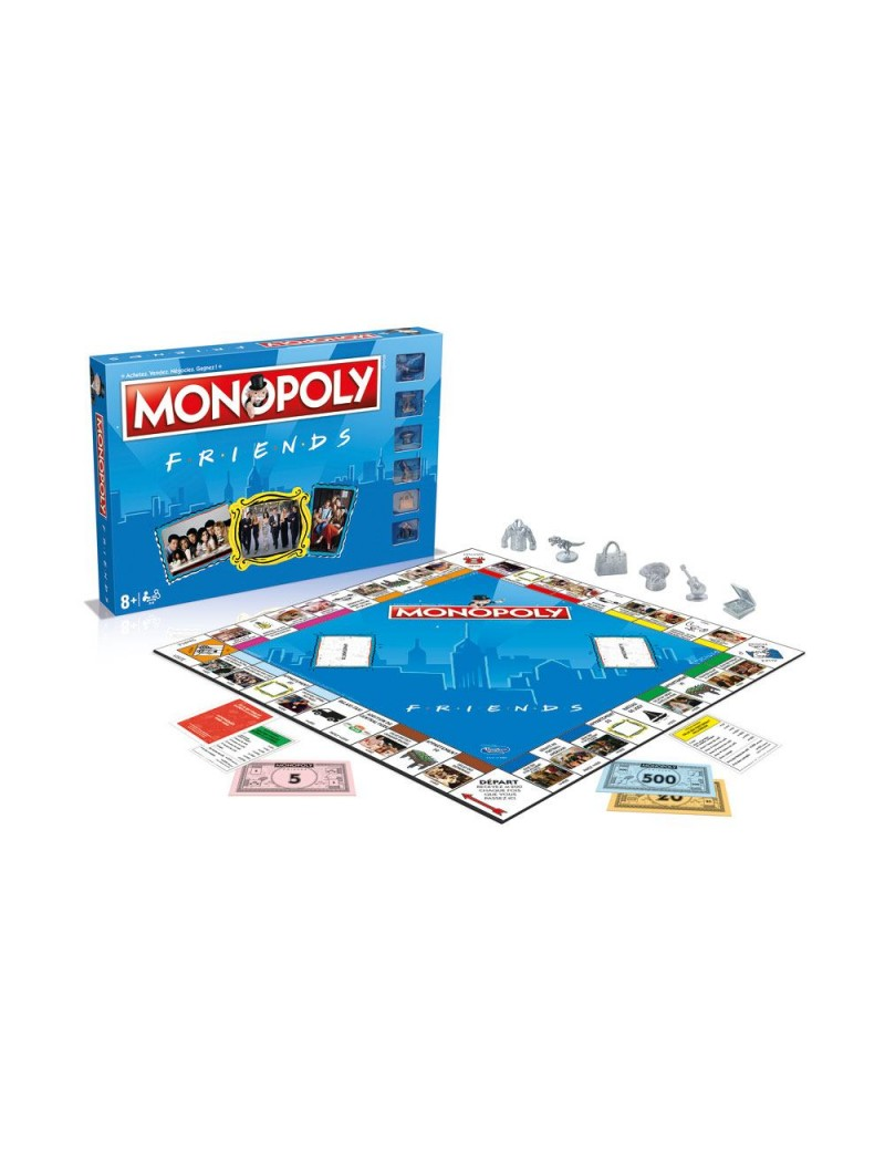 Friends jeu de plateau Monopoly FRANCAIS - GEEK WORLD