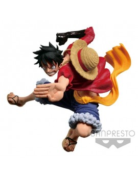 One Piece statuette Scultures Colosseum VI Vol. 3 Monkey D. Luffy