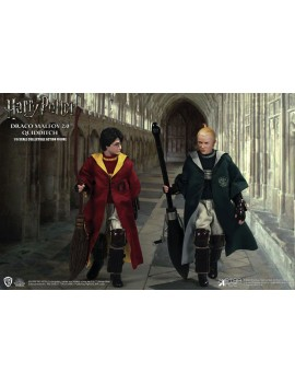 Harry Potter pack 2 figurines 1/6 Harry Potter & Draco Malfoy 2.0 Quidditch Ver.