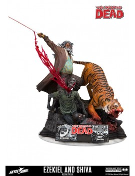 The Walking Dead statuette...
