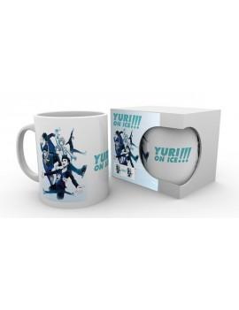 Yuri!!! on Ice mug Key Art