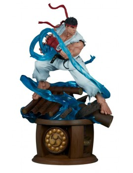 Street Fighter statuette...