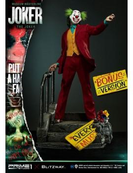 The Joker statuette Museum Masterline 1/3 Joker Bonus Version Prime 1 X Blitzway