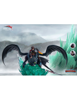 Dragons Statuette Krokmou &...