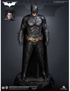 The Dark Knight statuette...