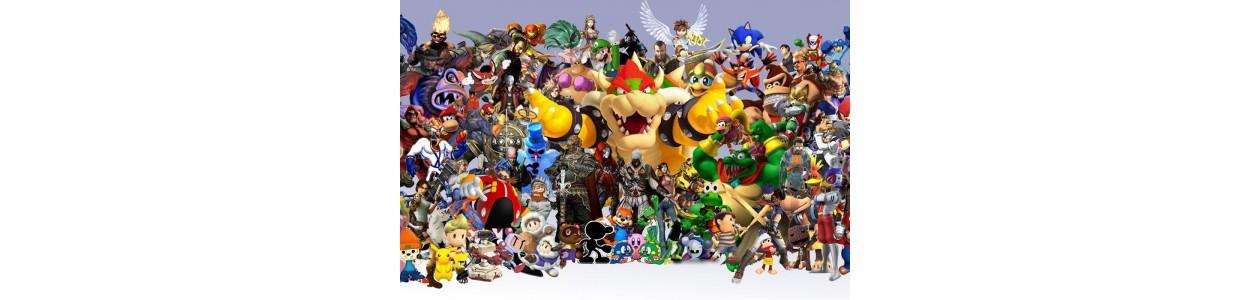 Retrouvez tous nos produits de jeu vidéo sur Geek World